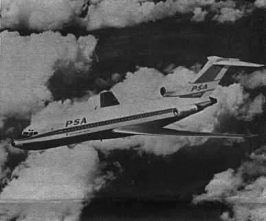 Artist's Conception, Boeing 727