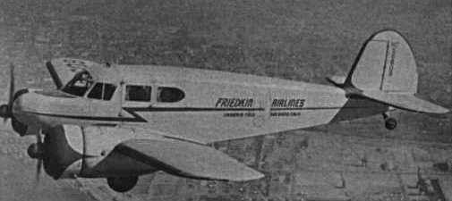 Friedkin Airlines Cessna UC-78, NC56609