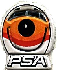 PSA smile sticker, 1980s