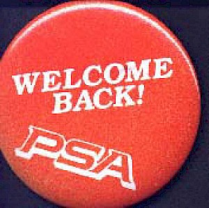 1982 Welcome back button