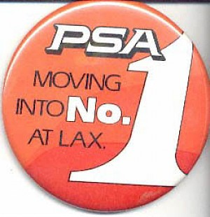 1984 Terminal One LAX button