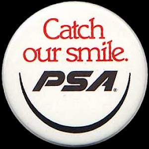 1985 Catch our Smile button