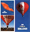 Balloon promotional brochure cover