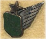 Three year service pin, 1960s. (Fred Hall)